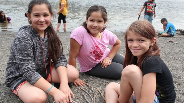 Fun during Water Week at Gorge Explorers